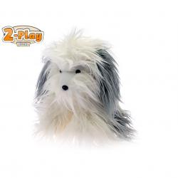 Pes plyšový 27cm sedící 2-Play 0m+