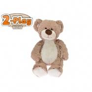 Medvěd plyšový 2-Play 25cm 0m+