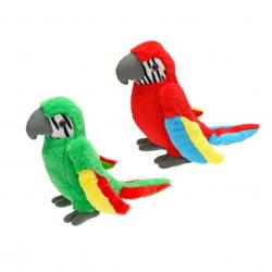 Papuga pluszowa  23 cm 2 kolory
