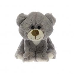 Medvedík plyšový 19cm sediaci 0m +