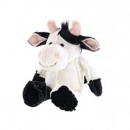 Kráva plyšová 17cm sedící 0m+