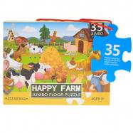 Puzzle farma 60x44cm 35dílků v krabičce