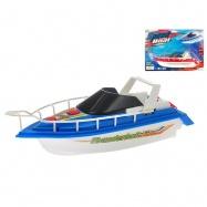 Motorový člun 24cm na baterie 2 barvy na kartě
