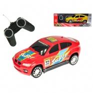 R/C auto sportovní 17cm 27MHz na baterie plná funkce 2barvy v krabičce