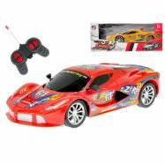 R/C auto športové 20cm 27MHz na batéria plná funkcie 2barvy v krabičke