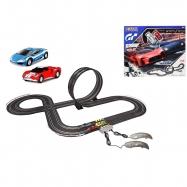 Autodráha 1:43 Polistil 4,75m High Speed Chase 2ks sportovních aut s ovladači v krabičce