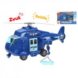 Helikopter plastikowy 1:20 20 cm ze światłem i dźwiękiem