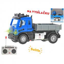Cieżarówka transportowa 1:64 12 cm 27MHz ze światłem w WBX