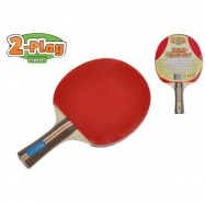Raketa na stolný tenis 2-Play drevená 25cm