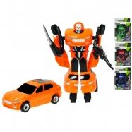 Robot / auto 19cm 2druhy 2barvy v krabičke