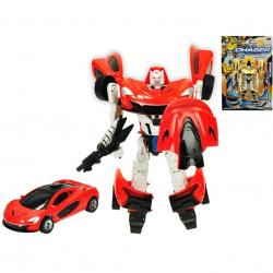 Auto/robot 21cm 2barvy na kartě