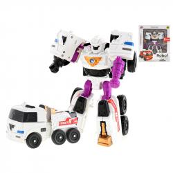Transformer plastikowy 16 cm samochód/robot w WBX