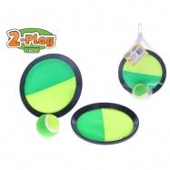 Catch ball 2-Play 19cm s míčkem v síťce