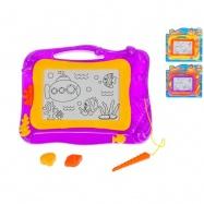 Magnetická kreslicí tabulka 33x26cm 3 barvy na kartě