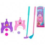 Golfový set princezna 2ks holí 53-56cm s míčky a doplňky na kartě