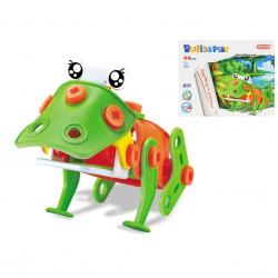 Miękkie klocki żaba 44 części