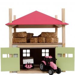 Senník / stodola 32x35x45cm 1:32 drevená v krabičke