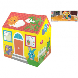 Domček 102x76x114cm s transparentnými oknami 2-6let v krabičke