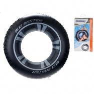 Kruh pneumatika nafukovacie 91cm 10 rokov + v sáčku