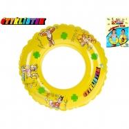 Kruh Čtyřlístek transparentní 50cm 3-10let v sáčku