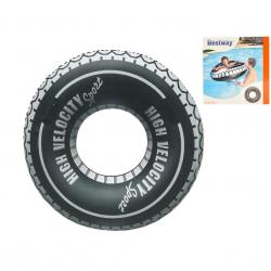 Kruh nafukovací 119cm dizajn pneumatika 12 rokov + v krabičke