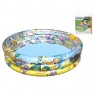 Bazén nafukovací 3 komory 102x25cm 110L v sáčku