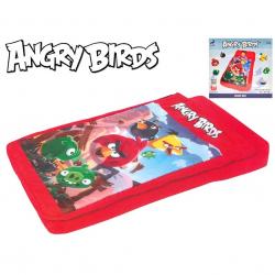 Angry Birds postel nafukovací 132x76x20cm se spacím pytlem 3-6let v krabičce