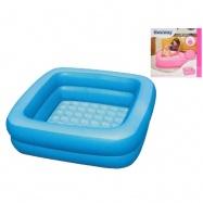 Bazén/vanička nafukovací 86x86x25cm 0-3roky v krabičce