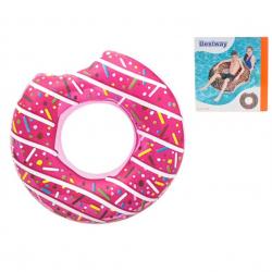 Kruh donut nafukovacie 107cm 12 rokov 2druhy v krabičke