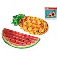 Lehátko nafukovací ovoce 174x89-96cm  max.90kg 2druhy v krabičce