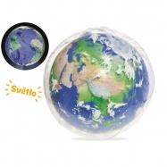 Piłka Plazowa 61cm Ziemia pudełko
