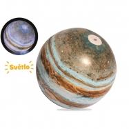 Míč nafukovací Jupiter 61cm se světlem na baterie 24m+ v krabičce