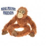 Opice plyšová dlouhé nohy 54cm 0m+ v sáčku