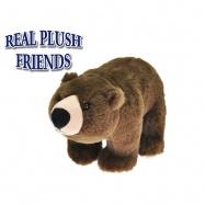 Medvěd plyšový 25cm stojící 0m+ v sáčku