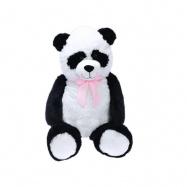 Panda plyšová 100cm 0m+ s mašlí  v sáčku