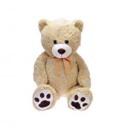 Medvěd plyšový 100cm 0m+ s mašlí v sáčku