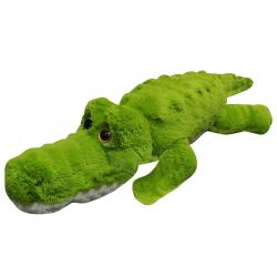 Krokodýl plyšový 125cm ležící velké oči 0 m+
