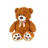 Medvěd plyšový 93cm s mašlí 0m+ v sáčku