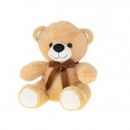 Medvěd plyšový 30cm sedící s mašlí 0m+