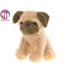 Pluszowy pies błyszczący 25 cm