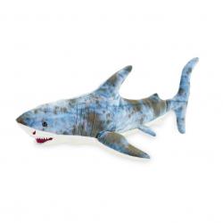 Pluszowy rekin 33 cm w torbie