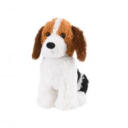 Pes plyšový 35cm sediaci 0m + v sáčku