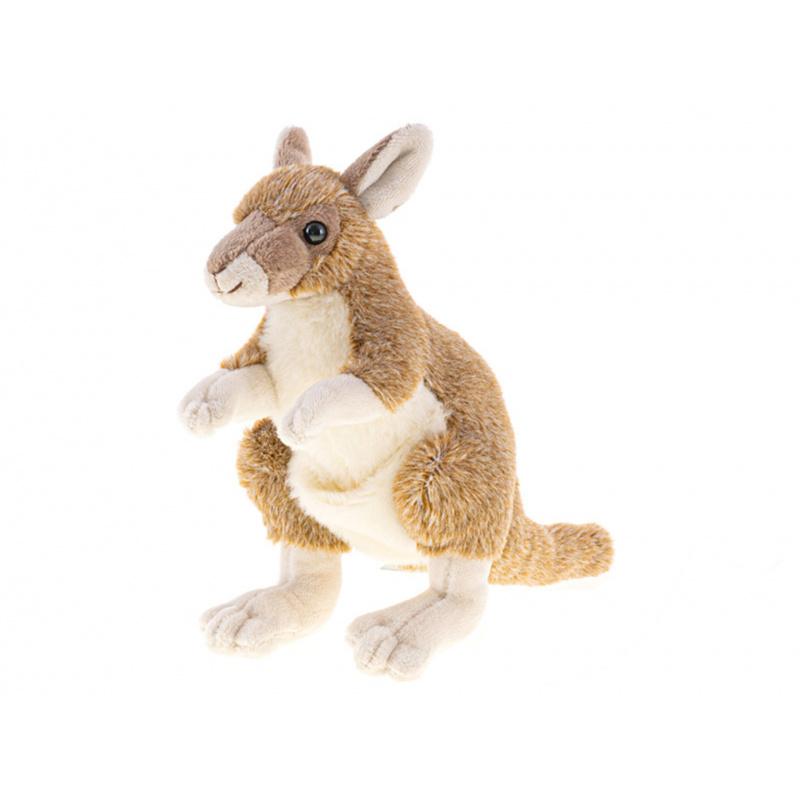 Pluszowy kangur 18 cm 0m+ w torbie