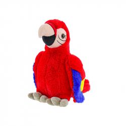 Pluszowa papuga 27 cm 0m+ w torbie