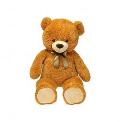 Medvěd plyšový 90cm s mašlí 0m+ v sáčku