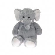 Slon plyšový 80cm s mašlí 0m+ v sáčku