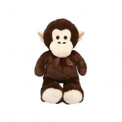 Małpa z kokardą 80cm