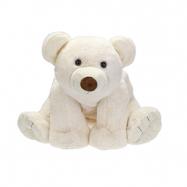 Lední medvěd plyšový 37cm sedící 0m+ v sáčku