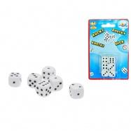 Kocky hracej 16mm 6ks na karte