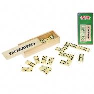 Domino 28ks v drevenej krabičke na karte